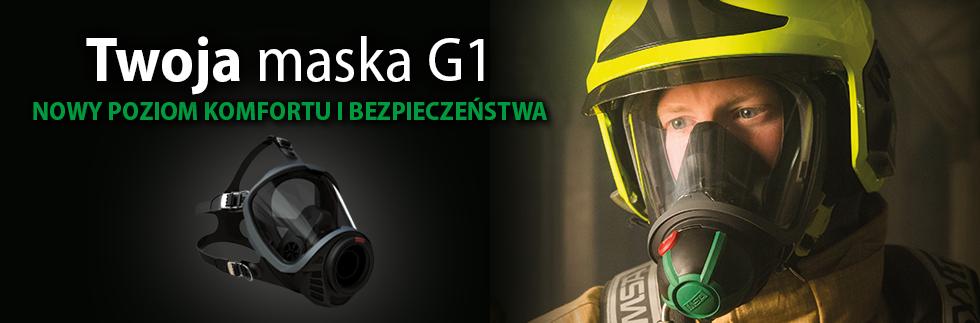 Maska G1 - nowy poziom komfortu i bezpieczeństwa